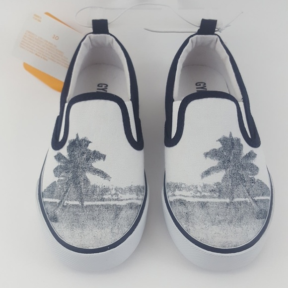 Boys Gymboree Palm Tree Shoes